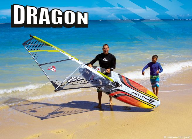 Voile GUN SAILS DRAGON